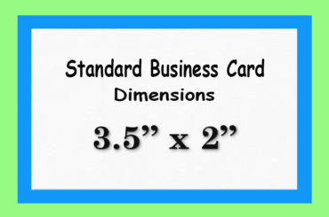 Business Card Size Specifications and Dimensions